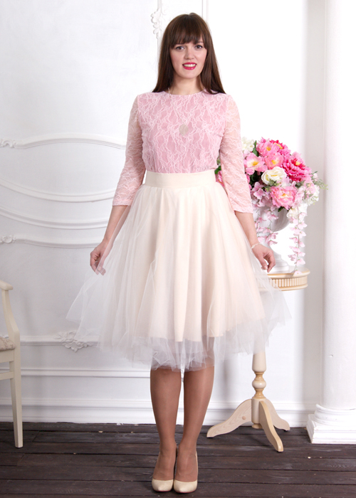 Пышная юбка Рафаэлло