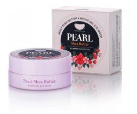 Petitfee Koelf Pearl & Shea Butter Hydro Gel Eye Patch 60шт - Патчи с жемчугом и маслом ши
