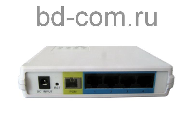 Терминал абонетский (ONU) BDCOM P1702-4F-02 (4 порта 10/100)
