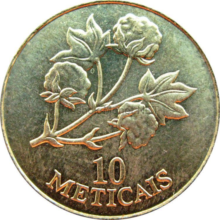 Мозамбик 10 метикаль 1994 г.