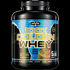 Сывороточный протеин Golden Whey (Maxler) 2270 г
