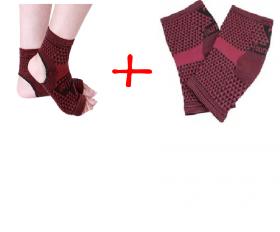 Набор турмалиновых поясов для ног