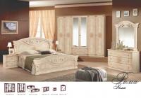 Спальня Рома беж с 6 дв. шкафом