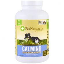 Pet Naturals of Vermont CALMING - Успокоительное для кошек и собак 160 мягких жевательных подушечек
