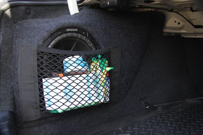 Сетка в багажник боковая (40Х25)