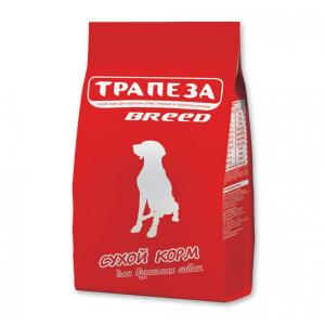 """Корм Трапеза """"Брид"""" мясное ассорти для взрослых собак 18кг"""