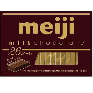 Молочный шоколад т.м.«Meiji» 120 гр