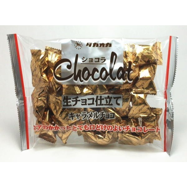 Конфеты Трюфель из молочного шоколада с карамелью «Takaoka» 165 гр