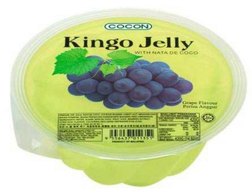 Желе COCON со вкусом Винограда 420 гр
