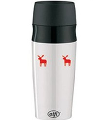 Термокружка Alfi travelMug white/red 0,35 l