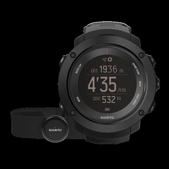 Suunto Ambit3 Vertical black (HR) часы с пульсометром и GPS