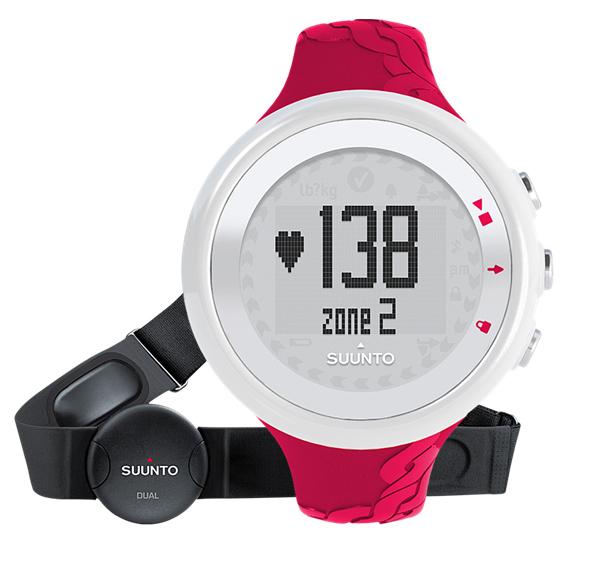 Suunto M2  Fuchsia (HR) часы пульсометр