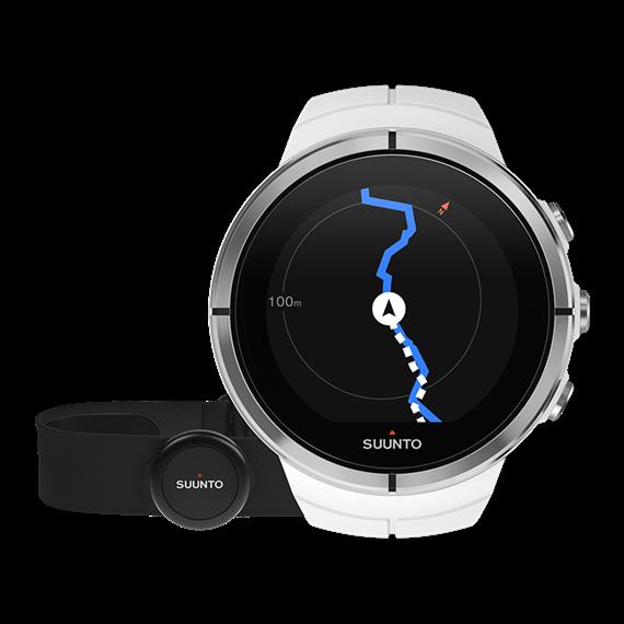 Suunto Spartan ultra white (HR) часы с пульсометром и GPS