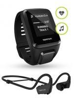 TomTom Spark 3 Cardio + Music + Bluetooth Headphones (GPS часы с пульсометром, MP3 плеером, компасом и трекером активности для мультиспорта)