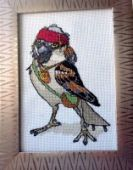 "Cross stitch pattern ""Jack Sparrow""."