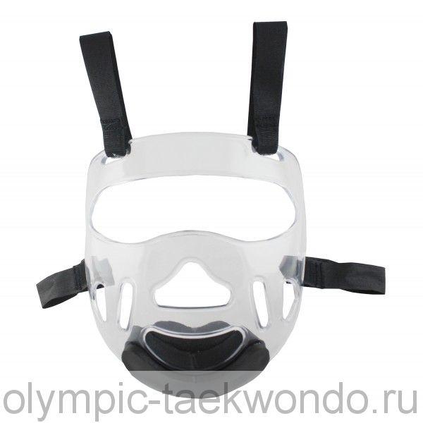 Маска защитная на шлем для тхэквондо