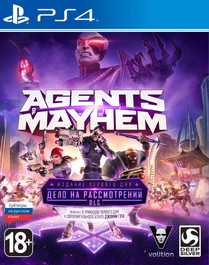 Игра Agents of Mayhem Издание первого дня (PS4)