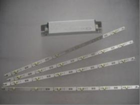 Комплект светодиодных линеек+БП 36W / для светильника Armstrong 4*18