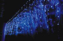 """Дождь-айсикл (""""бахрома"""") светодиодный 6х0.9м  провод прозрачный улица / интерьер"""