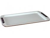 Форма для запекания с керамическим покрытием.Pomi d'Oro Q3305 40x25,5x1,5 см, (код 179)