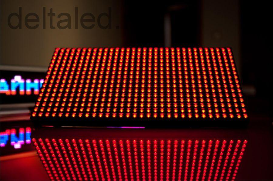 Одноцветные с шагом пикселя 10 мм (растояние до зрителя от 5 метров) уличного исполения