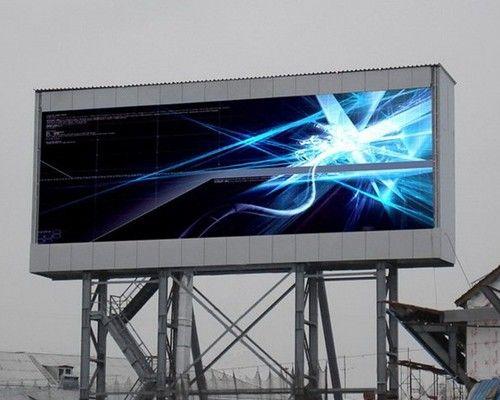 Полноцветные экраны с шагом пикселя 16 мм уличного исполения