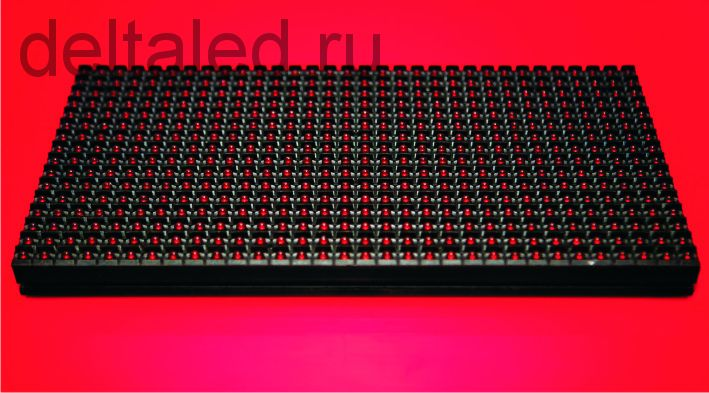 Одноцветный модуль для бегущей строки P10 (320*160 мм)