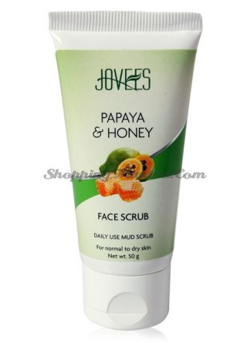 Скраб для лица Папайя и Мед Джовис | Jovees Papaya and Honey Face Scrub