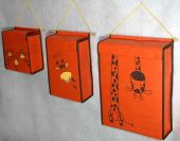 PKn007Жирафы оранжевый