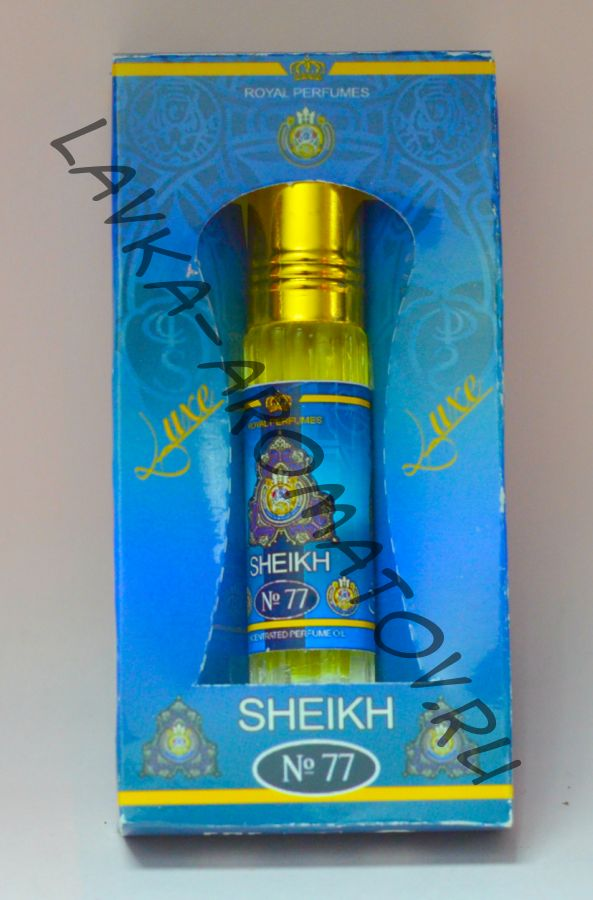Миск 4мл  Sheikh №77