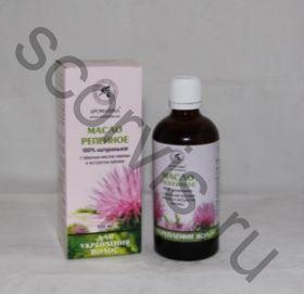 Репейное масло с крапивой Для укрепления волос