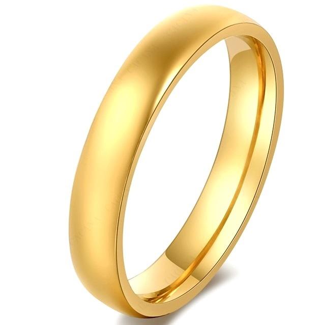 Обручальное кольцо 4 мм