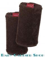 Накладки на ремни для слинг-рюкзака MANDUCA Baby And Child Carrier «FUMBEE Braun» [Мандука коричневые]