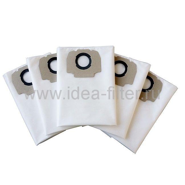 IDEA K-04 - мешки  для пылесоса KARCHER MV5, MV6 - 5 шт синтетические