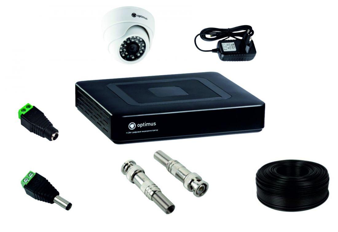 Комплект для установки 1-й видеокамеры внутреннего исполнения