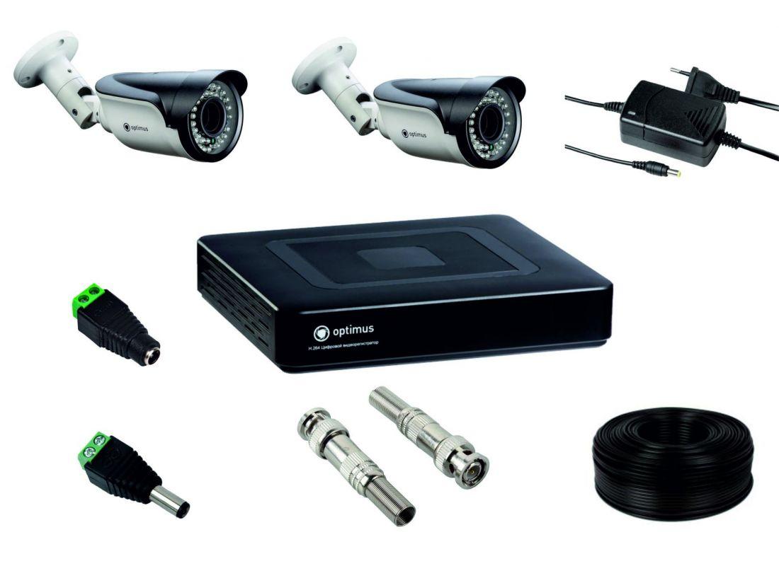 Комплект для установки 2-х видеокамер уличного исполнения
