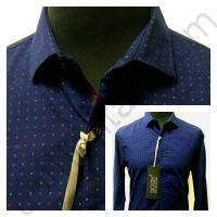 Мужская синяя рубашка Nous