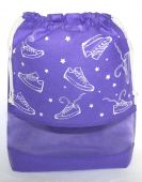 МO1 Кеды со звездами, фиолетовый