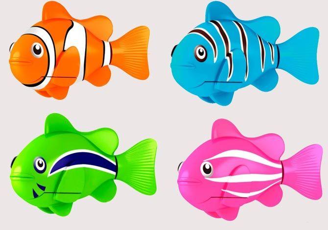 Роборыбка (Robo Fish) Клоун