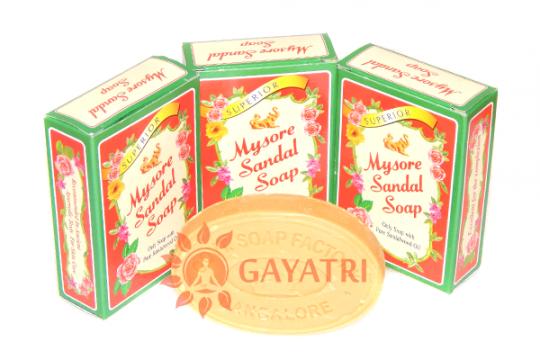 """Аюрведическое сандаловое мыло """"Майсор"""",75гр.Производитель""""Карнатака Соп""""/Mysore Sandal Soap,75gm/Karnataka Soaps"""