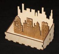 деревянная салфетница