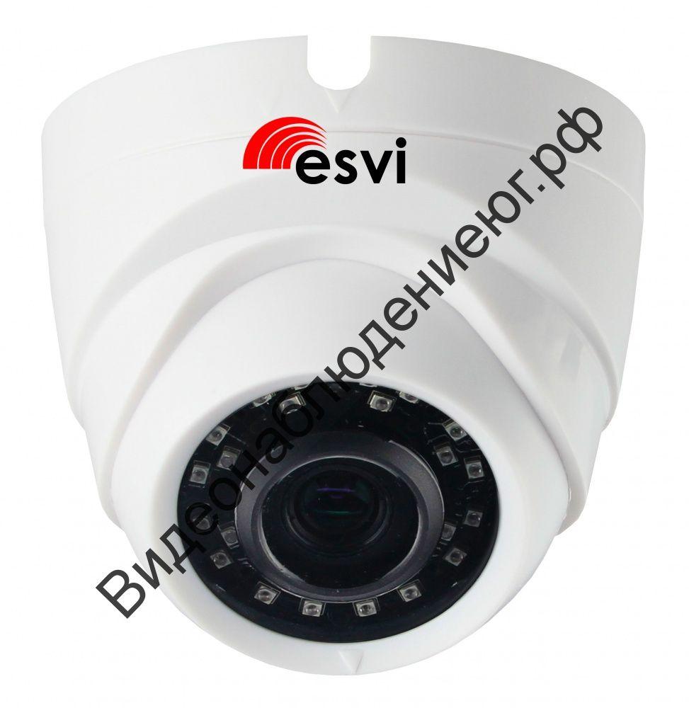 Купольная IP видеокамера EVC-DL-S20-P/A/C