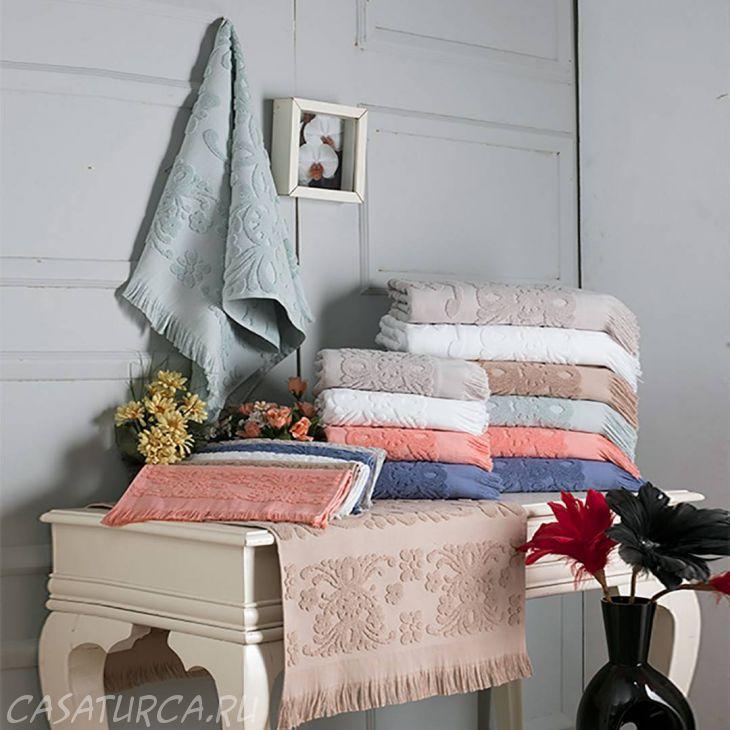 Полотенце Arya с бахромой 50Х90 Isabel Soft