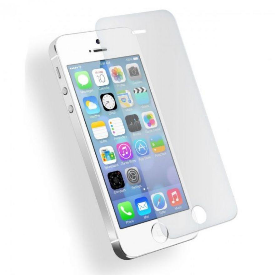 Защитное стекло (тех. упаковка) iPhone 5/5S/5C