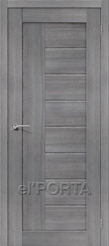 Межкомнатная дверь ПОРТА Х-26 Grey Veralinga