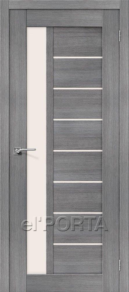 Межкомнатная дверь ПОРТА Х-27 Grey Veralinga