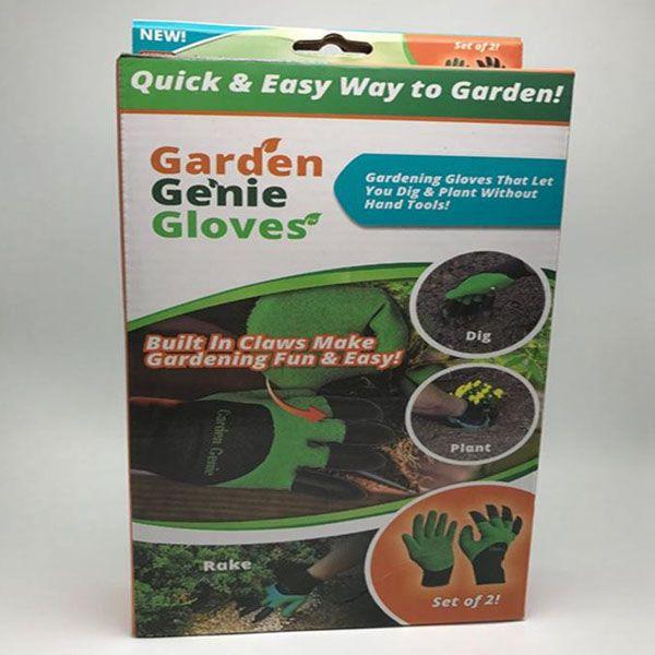 Перчатки садовые Garden Genie Glovers