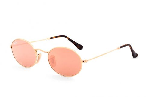 Ray Ban Oval Flat Lenses RB3547N 001/Z2