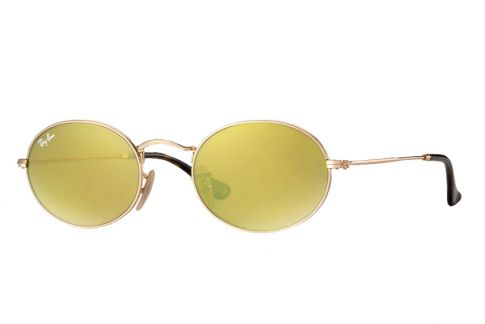 Ray Ban Oval Flat Lenses RB3547N 001/93
