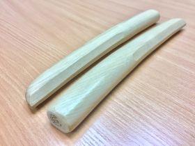Танто для айкидо в чехле из России (MASTERAIKIDO) модель - WHITE OAK TANTO